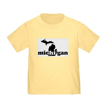 Hi From MI Toddler T-Shirt