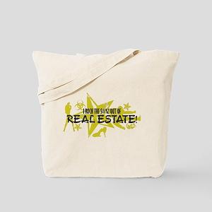 I ROCK THE S#%! - REAL ESTATE Tote Bag
