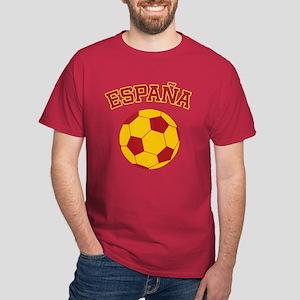Espana Futbol Dark T-Shirt