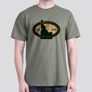 Idaho Est. 1890 Dark T-Shirt