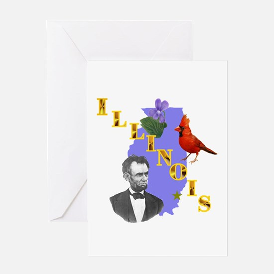 State of Illinois Greeting Card