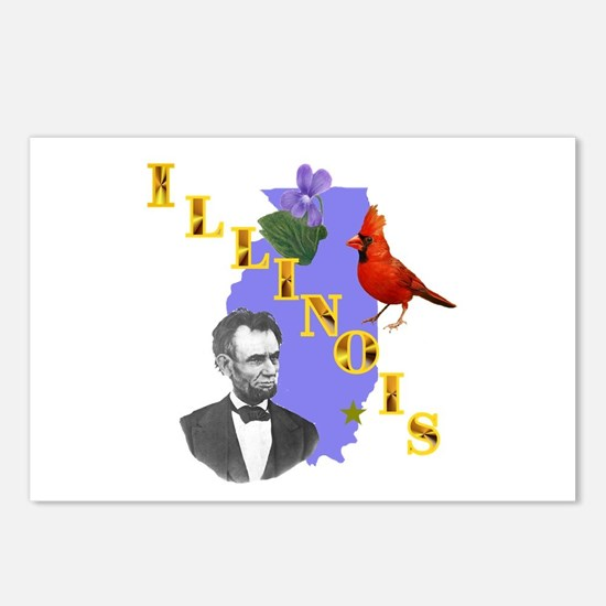State of Illinois Postcards (Package of 8)
