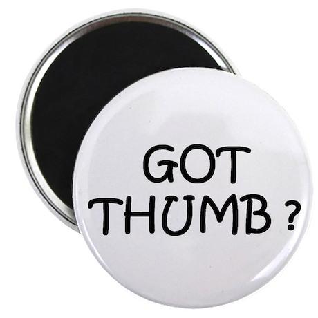 "Got Thumb 2.25"" Magnet (10 pack)"