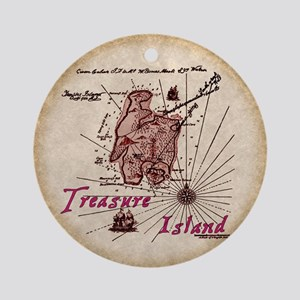 Treasure Island Ornament (Round)