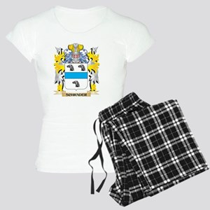 Schrader Family Crest - Coat of Arms Pajamas
