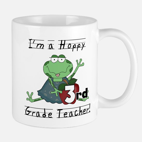 Hoppy 3rd Grade Teacher Mug