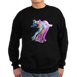 Skater in the Wind Sweatshirt (dark)