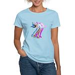 Skater in the Wind Women's Light T-Shirt