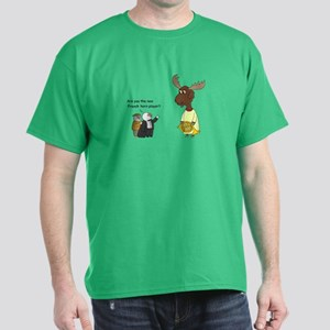 New French Horn Player Dark T-Shirt
