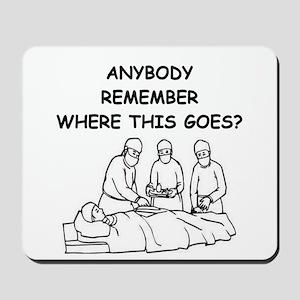 doctor joke Mousepad