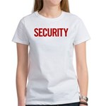 Security (red) Women's T-Shirt
