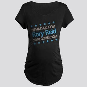 Nevadan for Reid Maternity Dark T-Shirt
