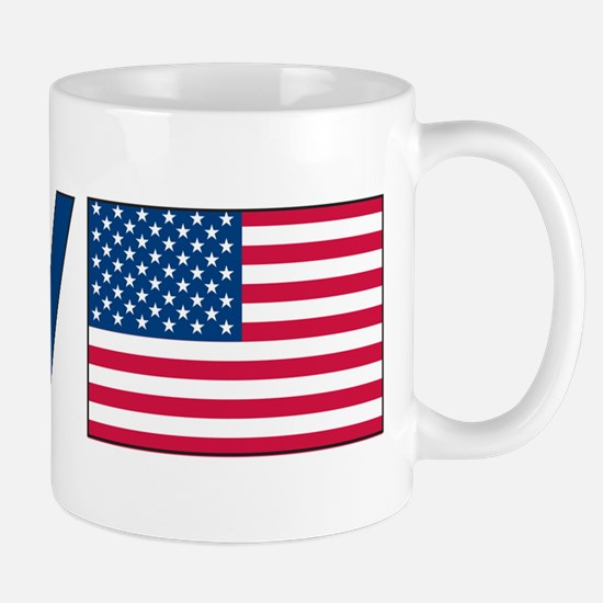 Love Peace America Mug