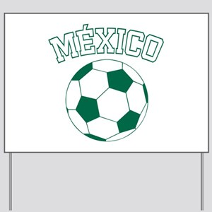 Mexico Futbol Yard Sign