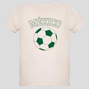 Mexico Futbol Organic Kids T-Shirt