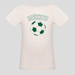 Mexico Futbol Organic Baby T-Shirt