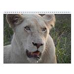 African Animal Wall Calendar