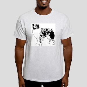 Australian Shepherd Ash Grey T-Shirt