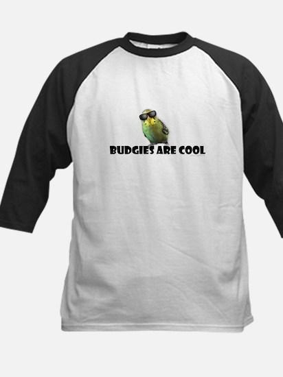 Budgies are Cool Kids Baseball Jersey
