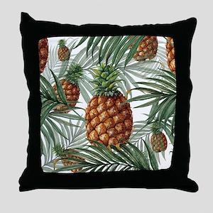 King Pineapple (full) Throw Pillow