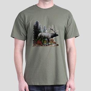 Elkaholic Dark T-Shirt
