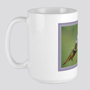 Morning Hummer Large Mug