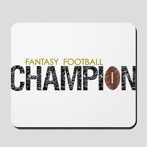 Fantasy League Champion Mousepad
