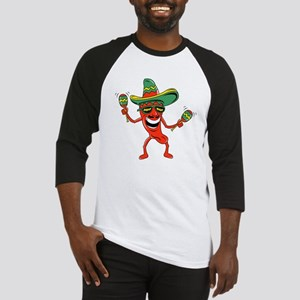 Hot Mexican Pepper Baseball Jersey