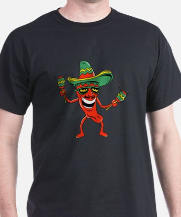 Hot Mexican Pepper T-Shirt