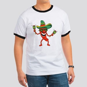 Hot Mexican Pepper Ringer T