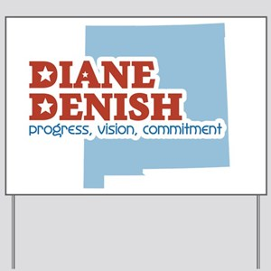 Progress, Vision, Commitment Yard Sign