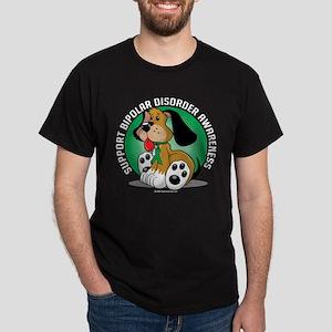 Bipolar Disorder Dog Dark T-Shirt