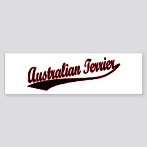 Australian Terrier Varsity Bumper Sticker