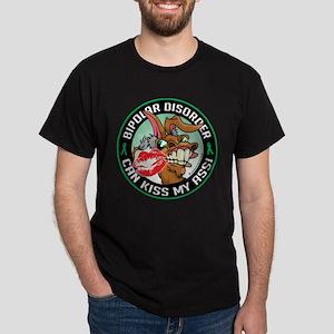 Bipolar Disorder Can Kiss My Dark T-Shirt