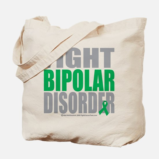 Fight Bipolar Disorder Tote Bag