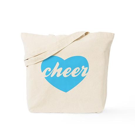 Cheer Heart Cheerleader Tote Bag