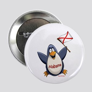 "Alabama Penguin 2.25"" Button"