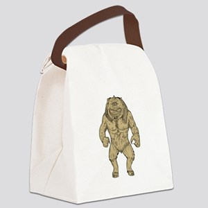 Cyclops Standing Drawing Canvas Lunch Bag