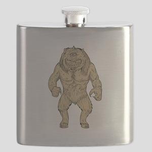 Cyclops Standing Drawing Flask