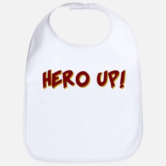 KIDS SUPER HERO SHIRT HERO UP Bib
