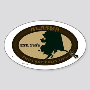Alaska Est. 1959 Sticker (Oval)