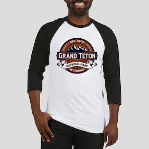 Grand Teton Vibrant Baseball Jersey