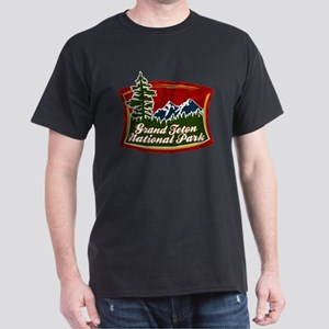 Grand Teton Mountains Dark T-Shirt