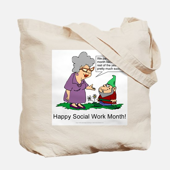 Party For A Month Tote Bag
