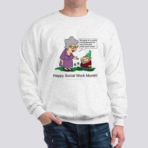 Party For A Month Sweatshirt