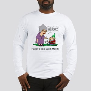 Party For A Month Long Sleeve T-Shirt