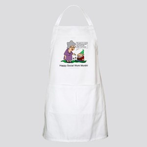 Party For A Month BBQ Apron