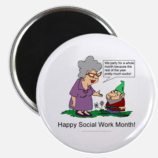 Party For A Month Magnets (10 pack)