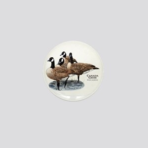 Canada Geese Mini Button