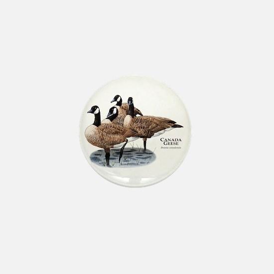 Canada Geese Mini Button